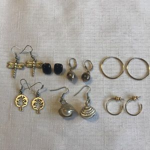 Jewelry - Lot of 7 Earrings Pierced Ears